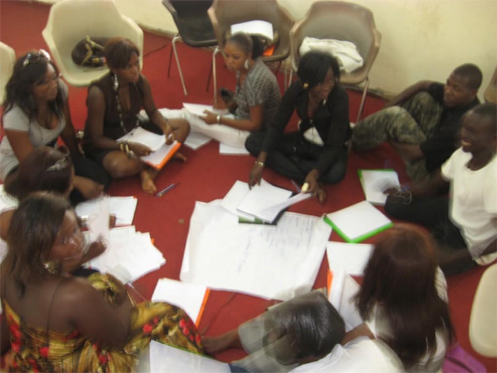 Vingt cinq jeunes de la r gion de kaffrine form s en for Chambre de commerce de dakar formation